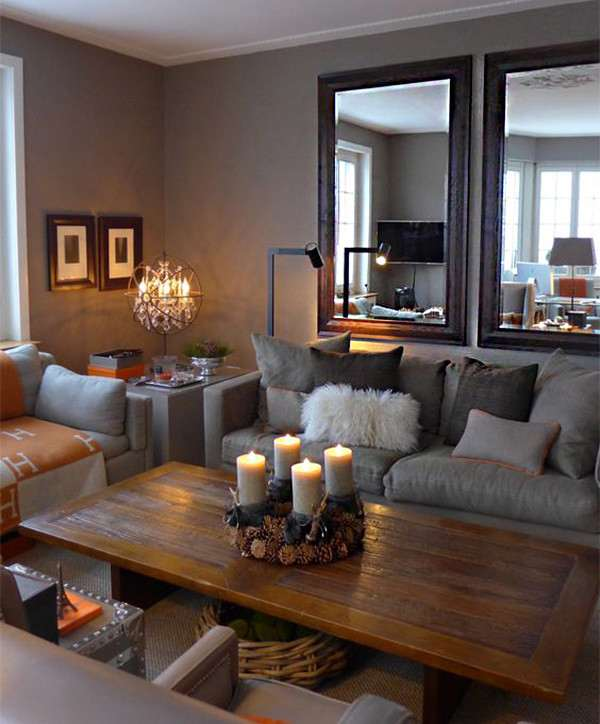 10 ideas para decorar casas peque as y optimizar al m ximo for Decoracion para el salon de casa