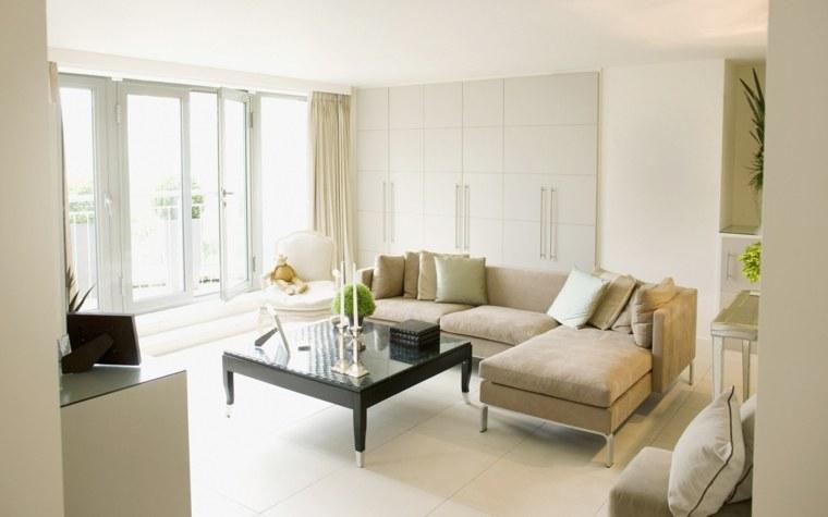 10 ideas para decorar casas peque as y optimizar al m ximo - Pinturas paredes colores ...