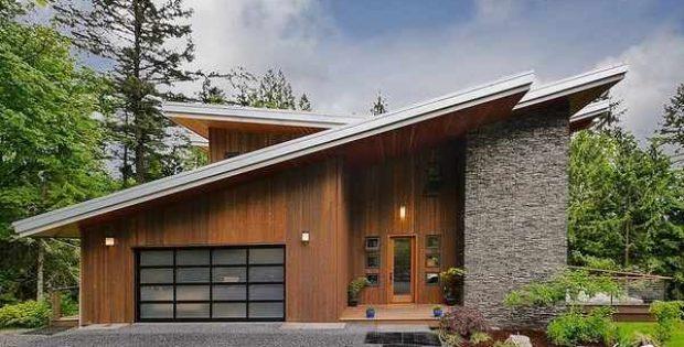 casa de madera de diseño