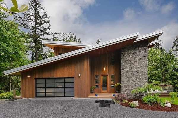 C mo hacer una casa de madera de dise o adaptada a las for Disenos para construir una casa
