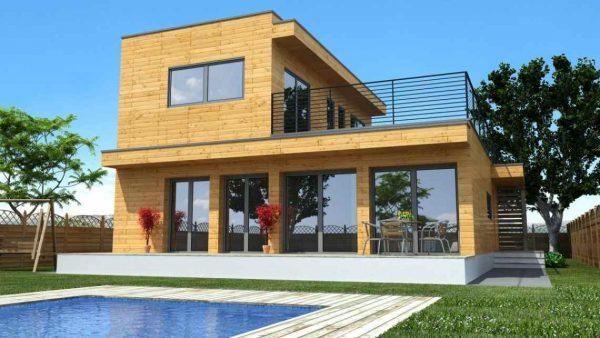 Casas de madera modulares como alternativas de construcci n de viviendas sostenibles y modernas - Casas de madera modulares ...