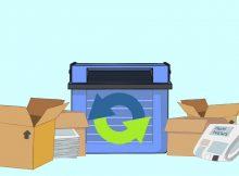 reciclar embalajes después de una mudanza