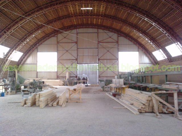 F brica de casas de madera casas ecol gicas - Fabricantes de casas de madera ...