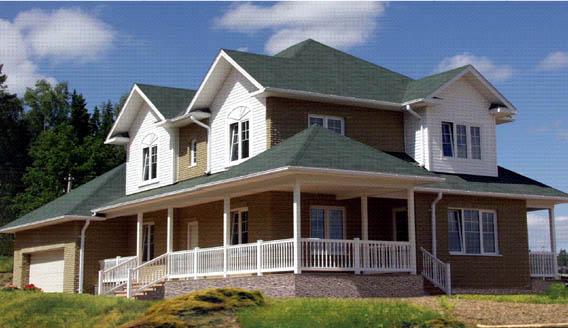 Casa de estructura de madera el techo for Techos de madera para casas