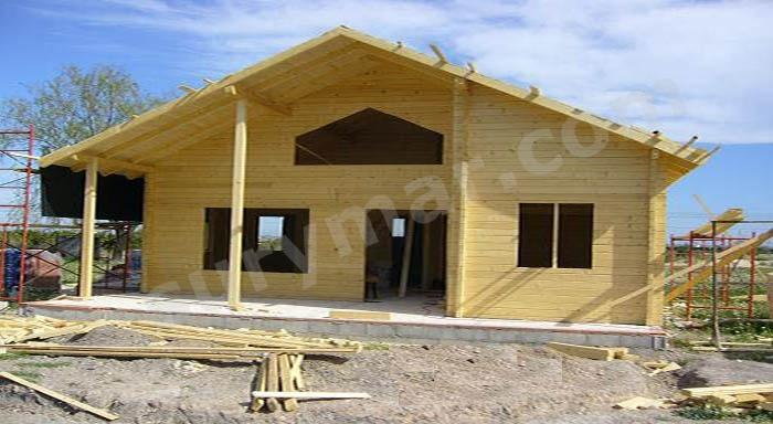Dificultades en la construcci n de casas de madera - Seguros casas de madera ...