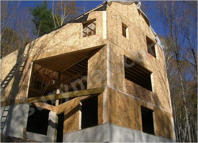 osb en casas de entramado madera