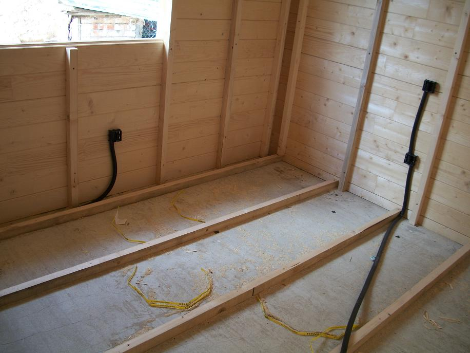 Casas de entramado de madera 2 estructura del suelo casas - Suelos de casas ...