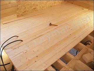 Casas de entramado de madera 3 el entrepiso casas ecol gicas - Como hacer un altillo de madera ...
