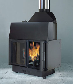 chimenea de biomasa