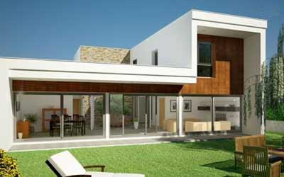 Dise o con principios de la arquitectura bioclim tica for Casas modernas lujosas