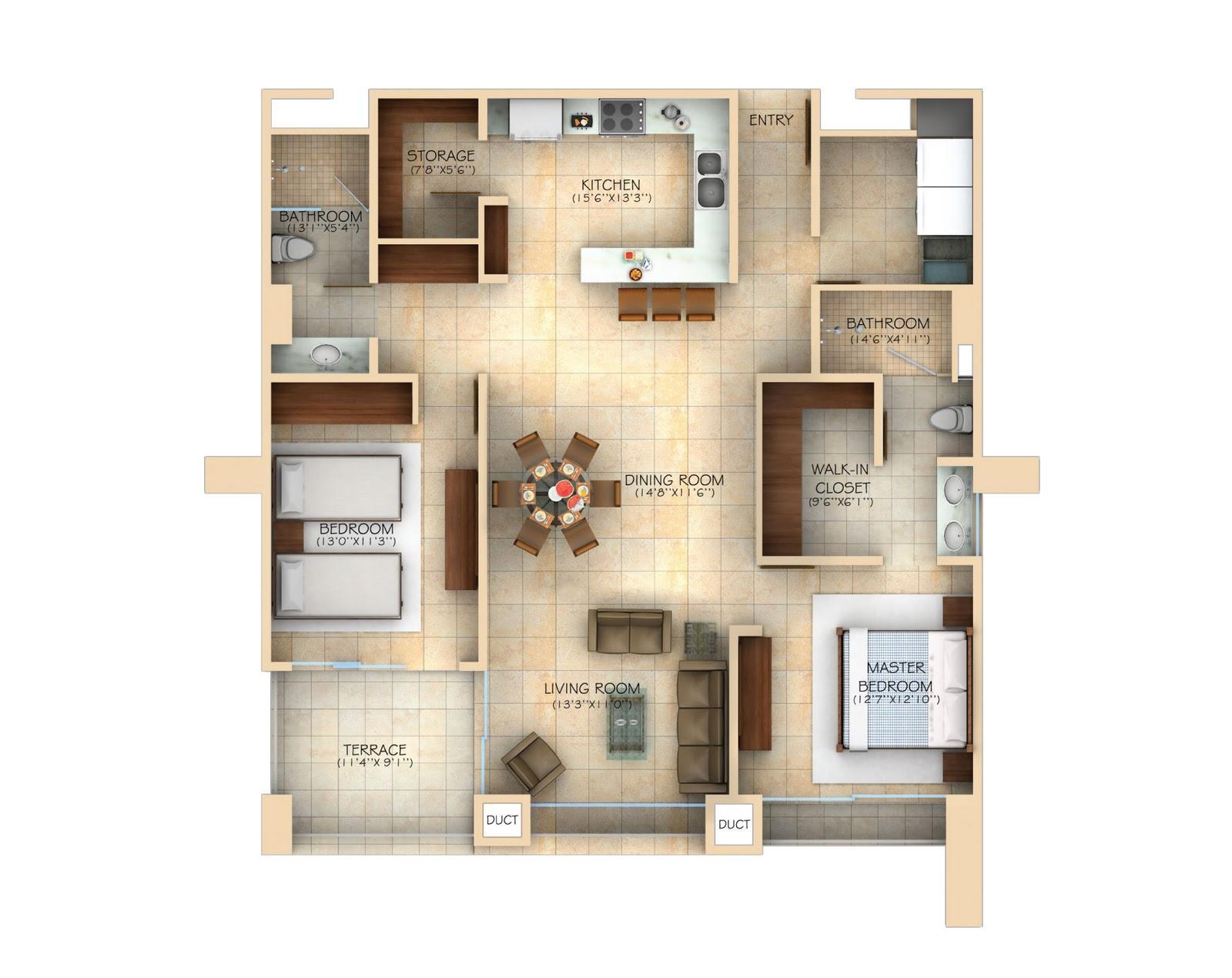 Planos de casas de 100 metros cuadrados metros cuadrados - Cuanto cuesta hacer una casa de dos plantas ...