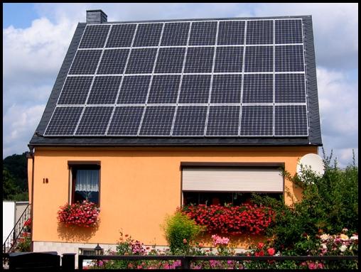 Paneles solares para casas que producen electricidad - Paneles solares para abastecer una casa ...