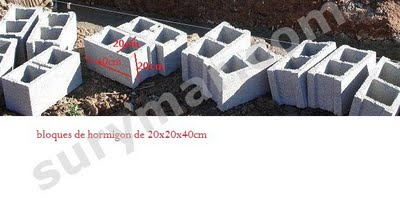 cimentación para casas de madera