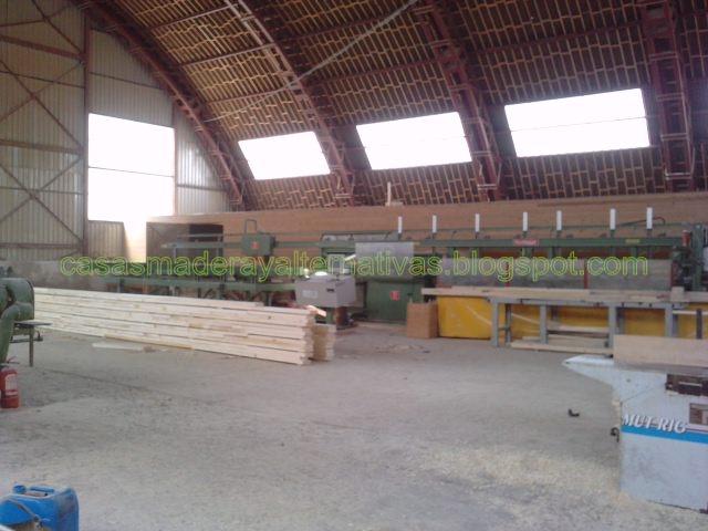 F brica de casas de madera casas ecol gicas - Casas de madera laminada ...
